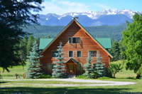 Beautiful, Timber frame house, large property, for sale, Golden, BC, Canada